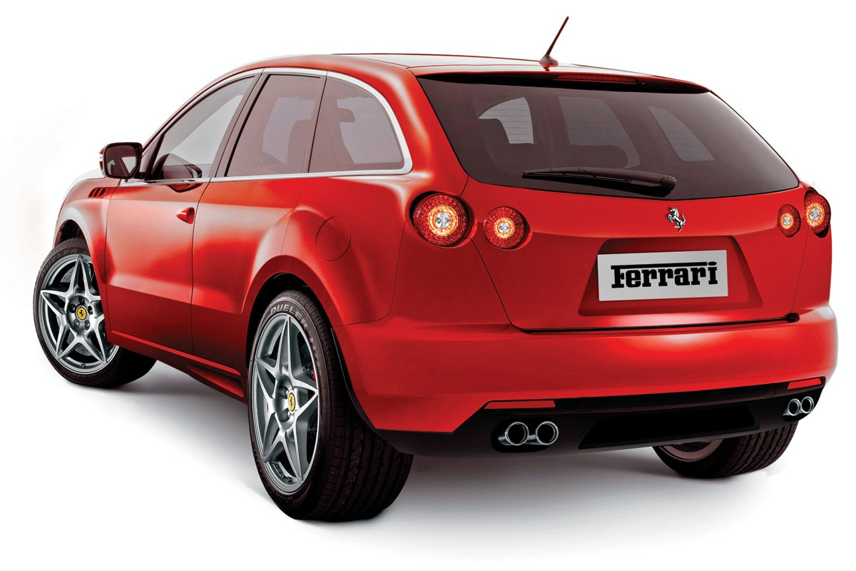 Ferrari Suv Artist Renderings1 Car Buzz
